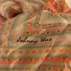 Johnny Was Silk Scarf